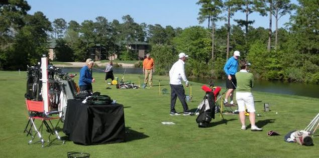 Play golf in South Carolina.