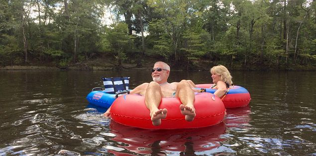 tubing edisto river adventure