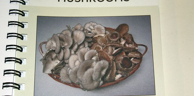 Mepkin Abbey Cookbook Mushrooms