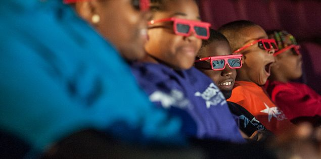 4D movie experience at SCSM
