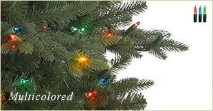 Artificial Christmas tree with Multicolored Lights