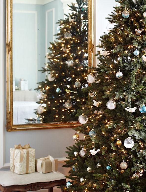 How to Hang Christmas Lights on Christmas Tree   Balsam Hill