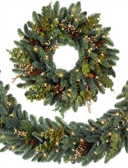 ... wreaths and garlands made fuller and more unique with your precious ornaments. With our selection of the most elegant Christmas door decorations ...  sc 1 st  Balsam Hill & Door Decorating Ideas for Christmas | Balsam Hill