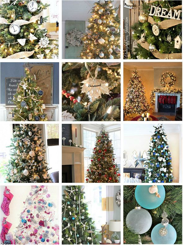 12 beautifully decorated balsam hill christmas trees - Christmas Tree Decorating Ensemble Kits