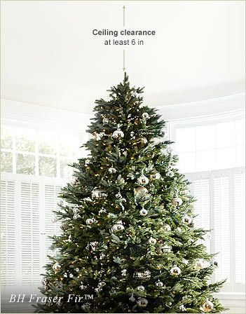 Decorated BH Fraser Fir Artificial Christmas Tree