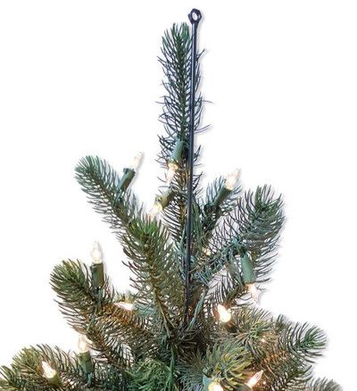 you can use fasteners such as the christmas tree topper extension kit from balsam hill to add more stability it includes an 18 inch metal rod - Christmas Toppers