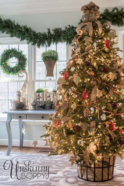 How to Recreate Beth's Timeless Christmas Tree