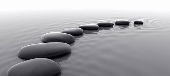 Zen Rocks and Meditation
