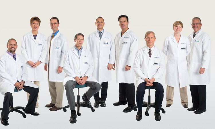 Meet the Experienced Team of physicians with the Spine Center of Excellence at OAA Orthopaedic Specialists
