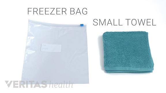 DIY ice pack
