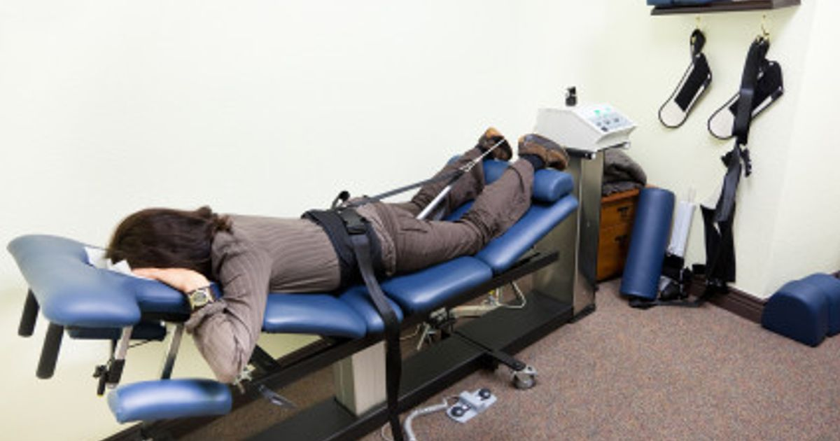 Spinal Decompression Patients Advice Inversion Tables