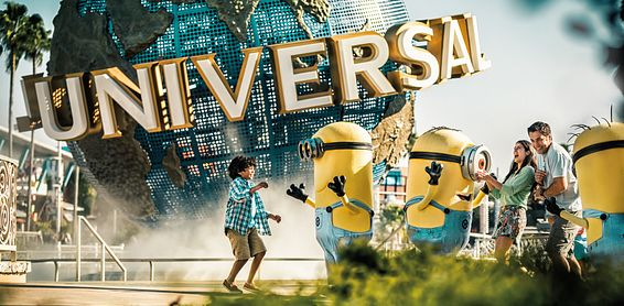 Enter the mesmerizing world of some of the biggest Hollywood movies at Universal Studios Florida.