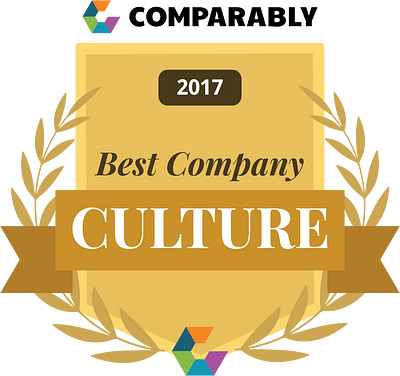 Comparably 2017 Best Company Culture