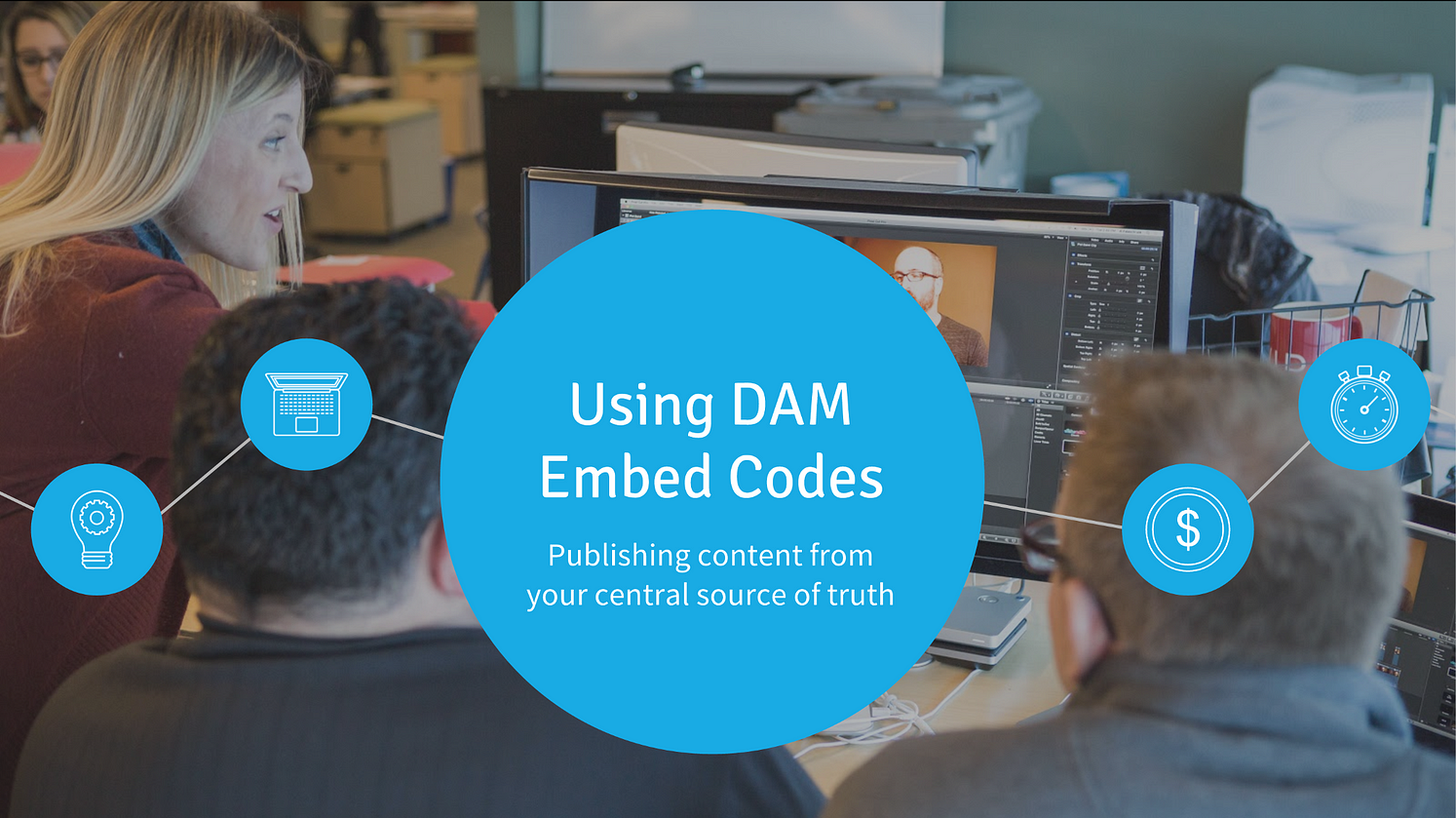 Digital Asset Management & Embed Codes