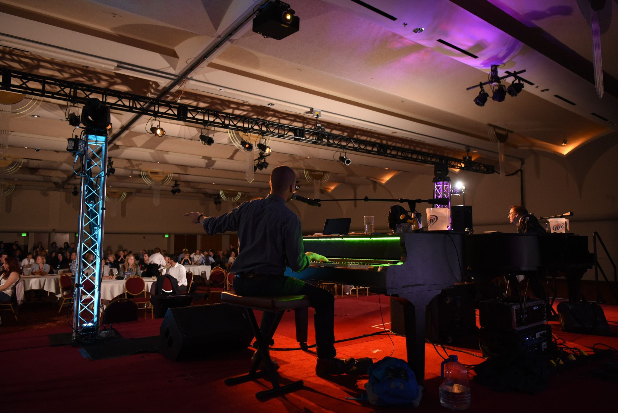 Widen Summit dueling pianos