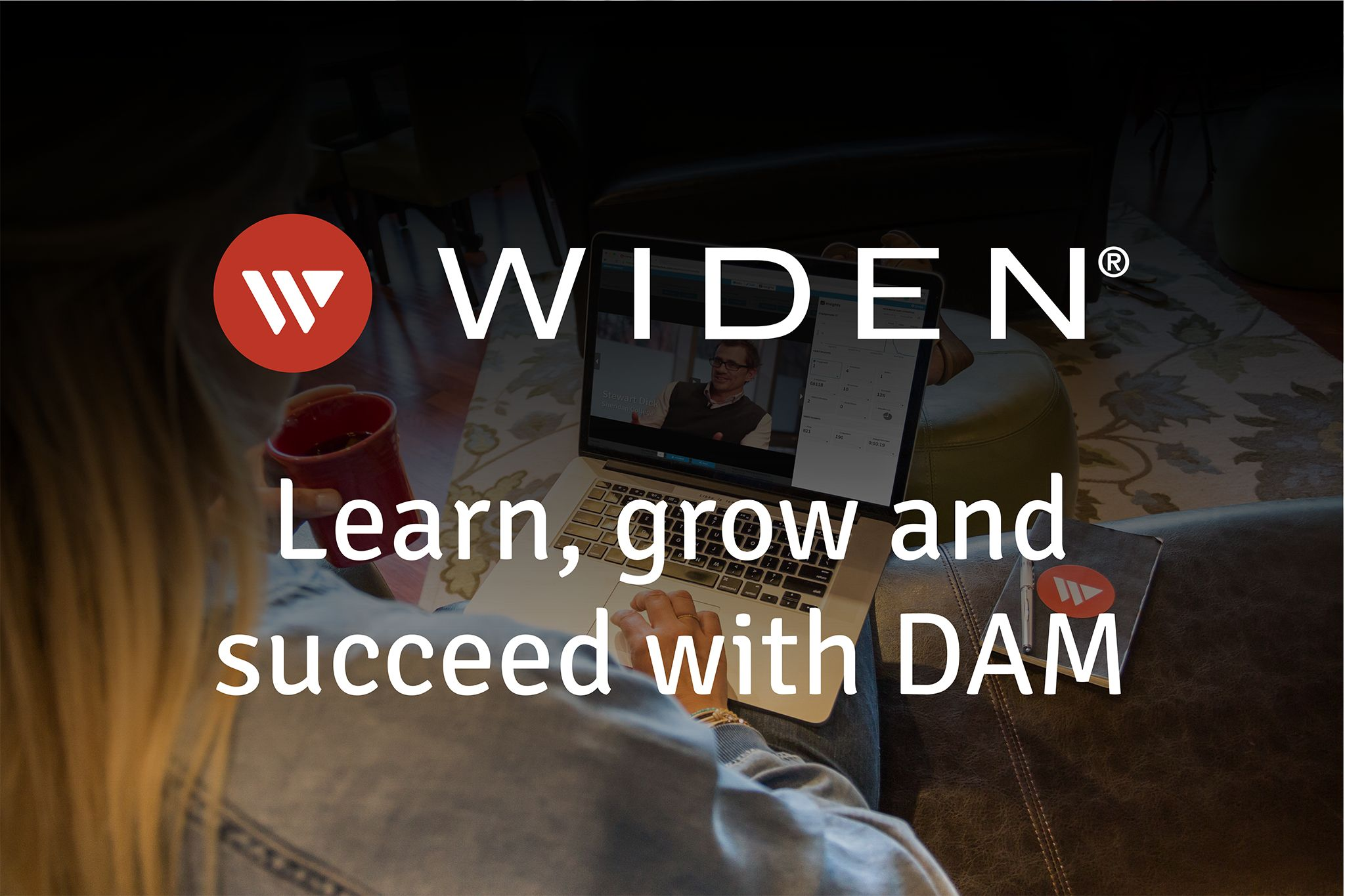 Widen Webinars - Learn, grow and succeed with DAM