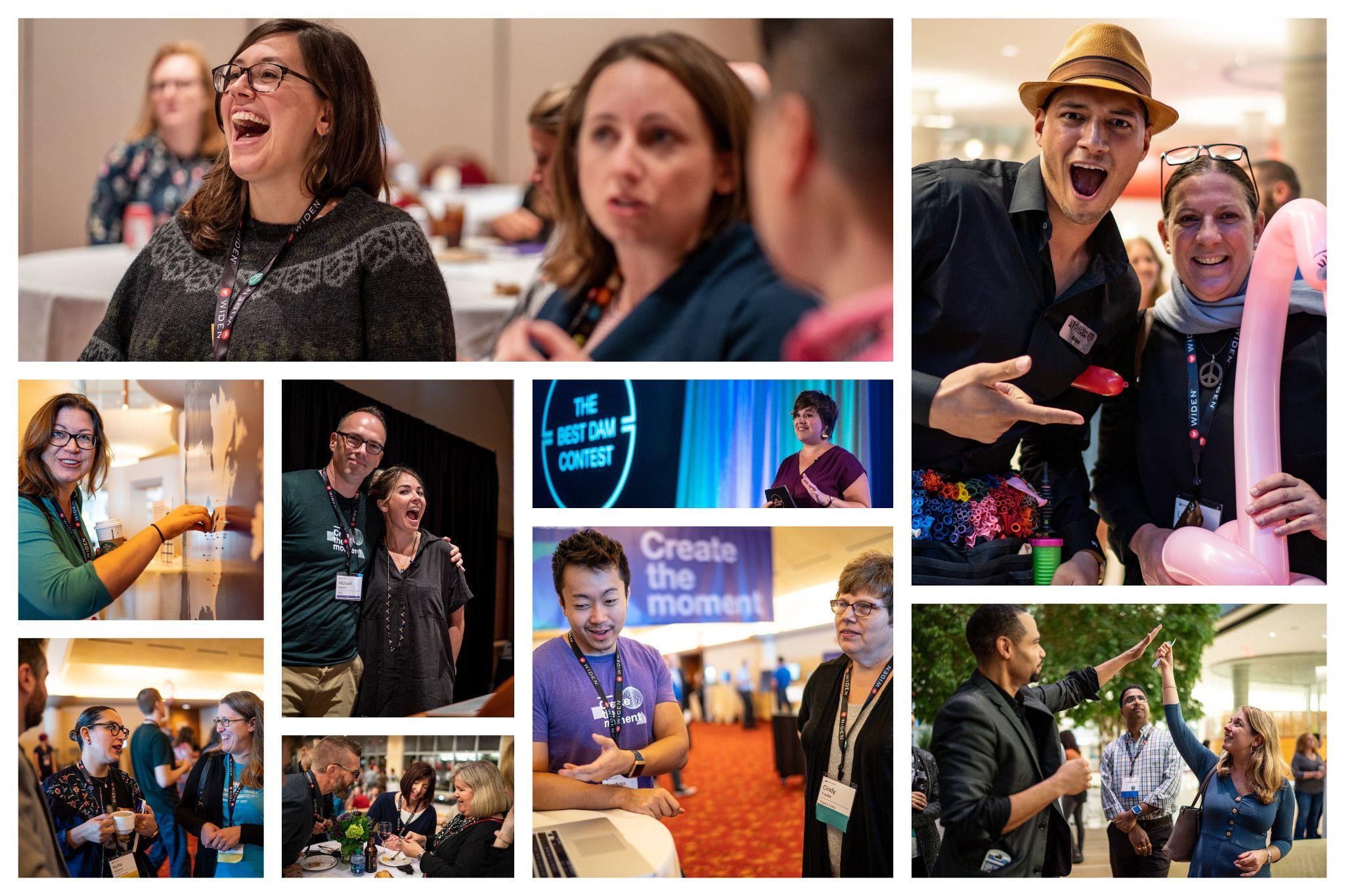 Widen Summit 2018 Photo Collage