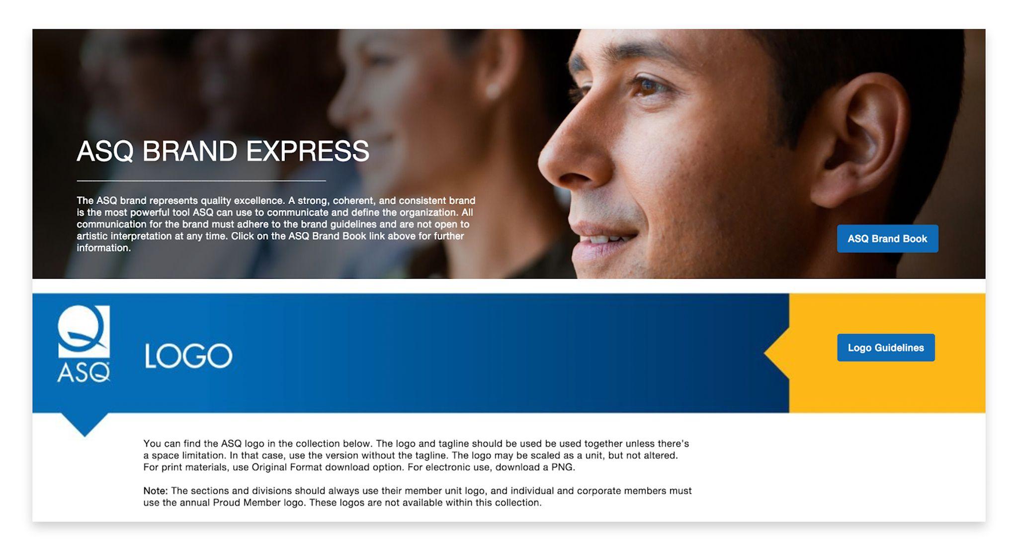 ASQ Brand Express Portal