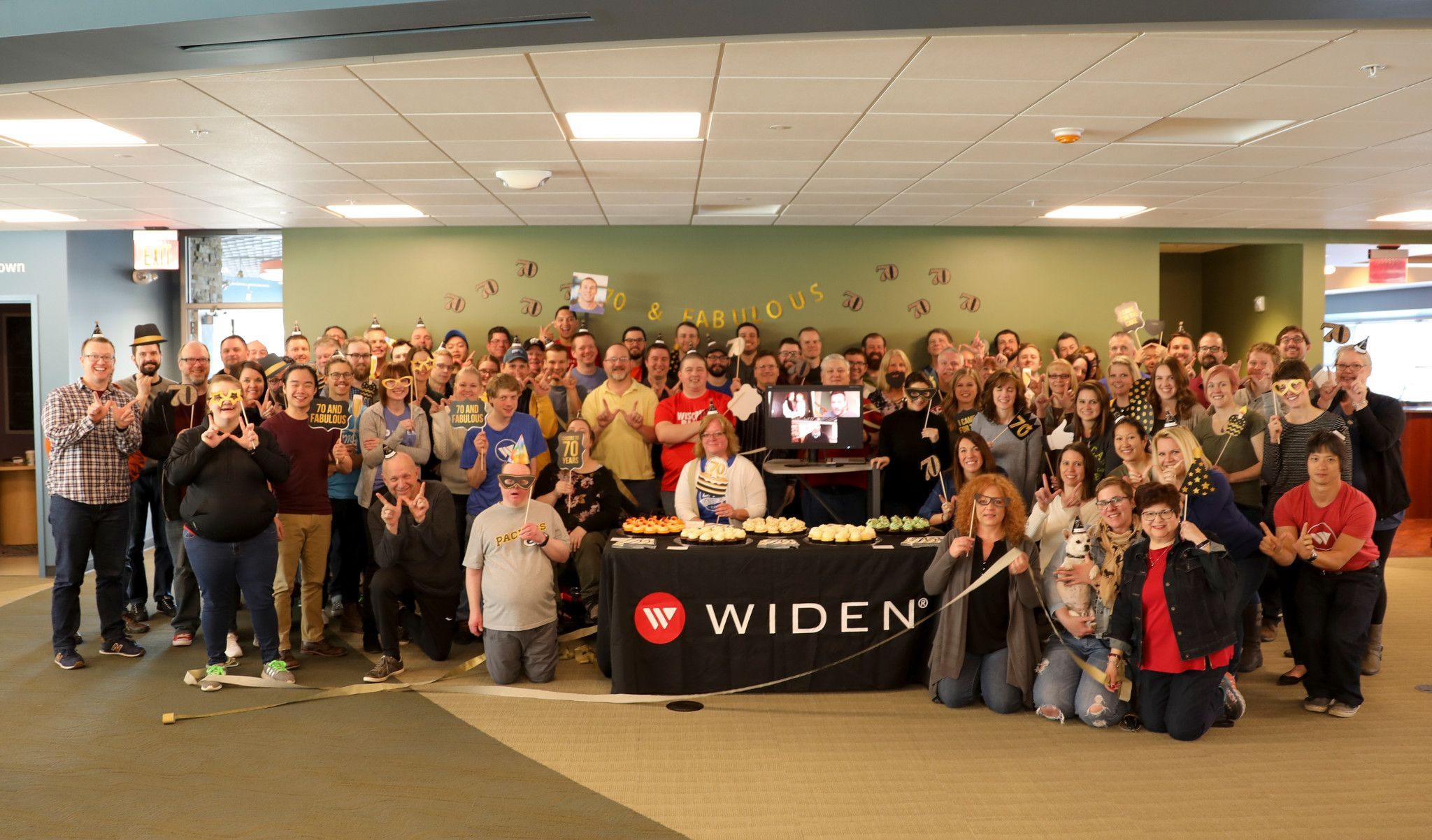 Widen celebrates 70 years of business in 2018