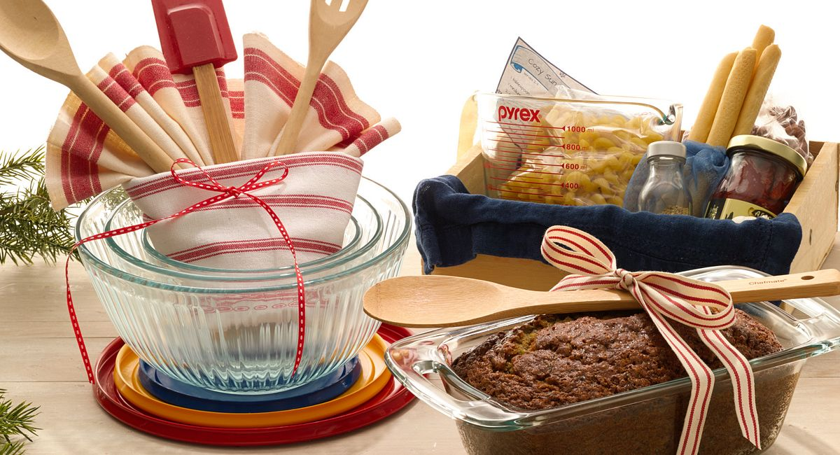Gifts in a Pyrex® Dish: Cooking Up Great Holiday Presents