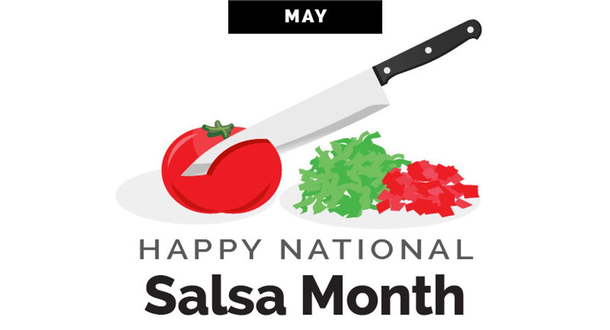 World Kitchen | Happy National Salsa Month Infographic