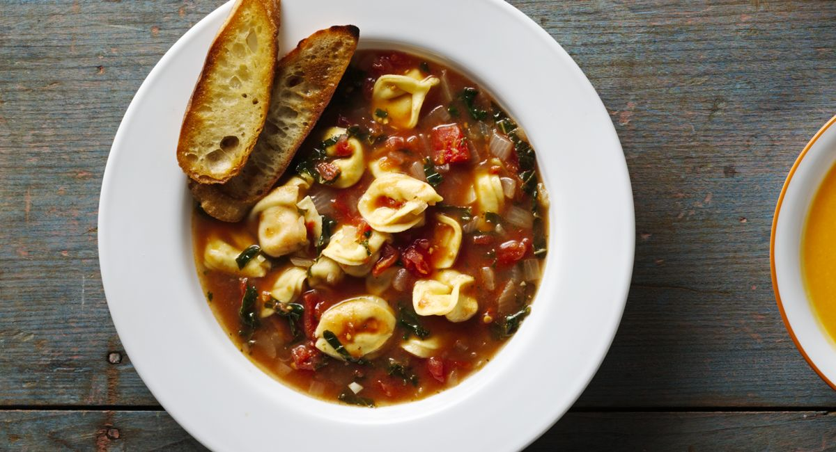 Easier-Than-Takeout Tortellini Soup
