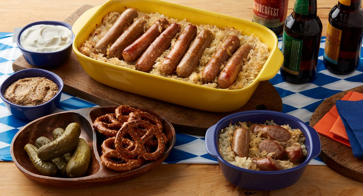 One-Dish Oktoberfest Skillet Dinner
