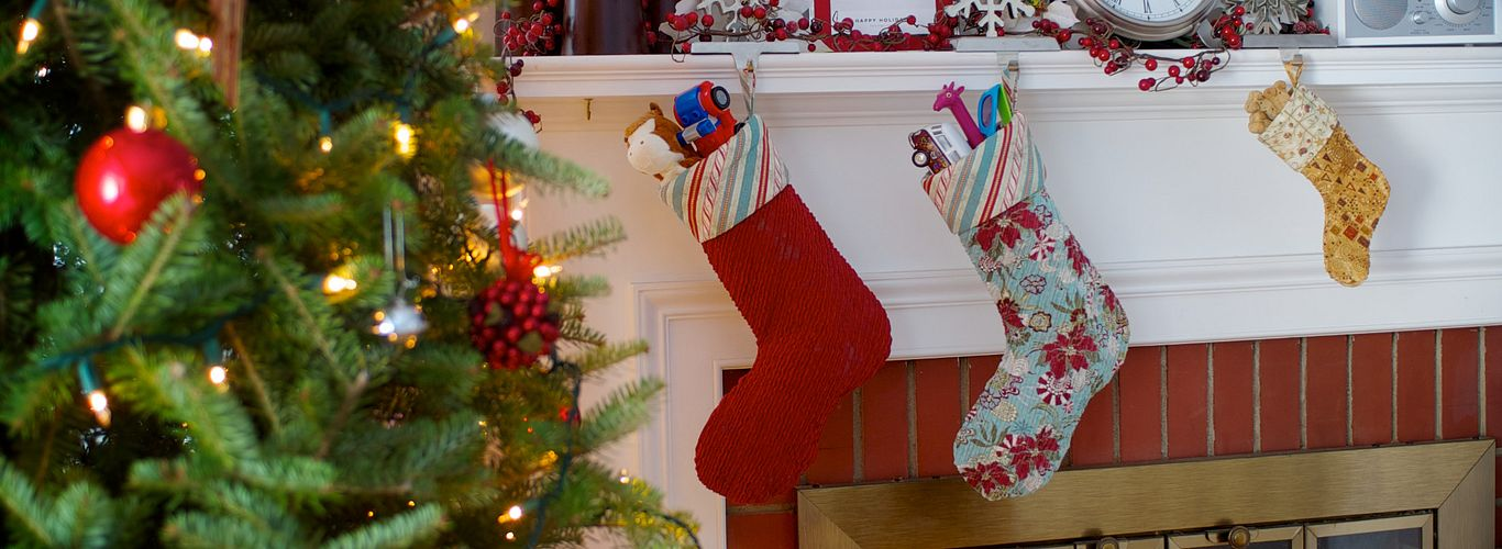 Chenille Christmas Stocking