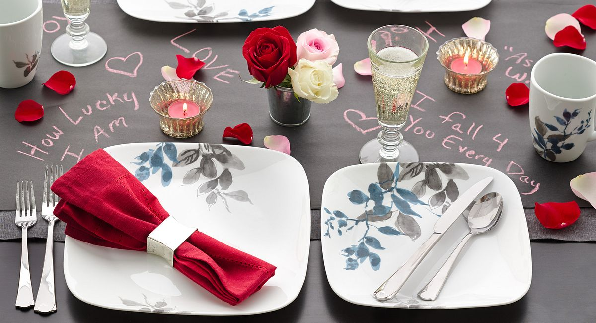 Table Trends for a Lovely Valentine's Day
