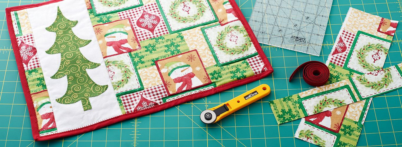 Christmas in July – Quilted Placemats