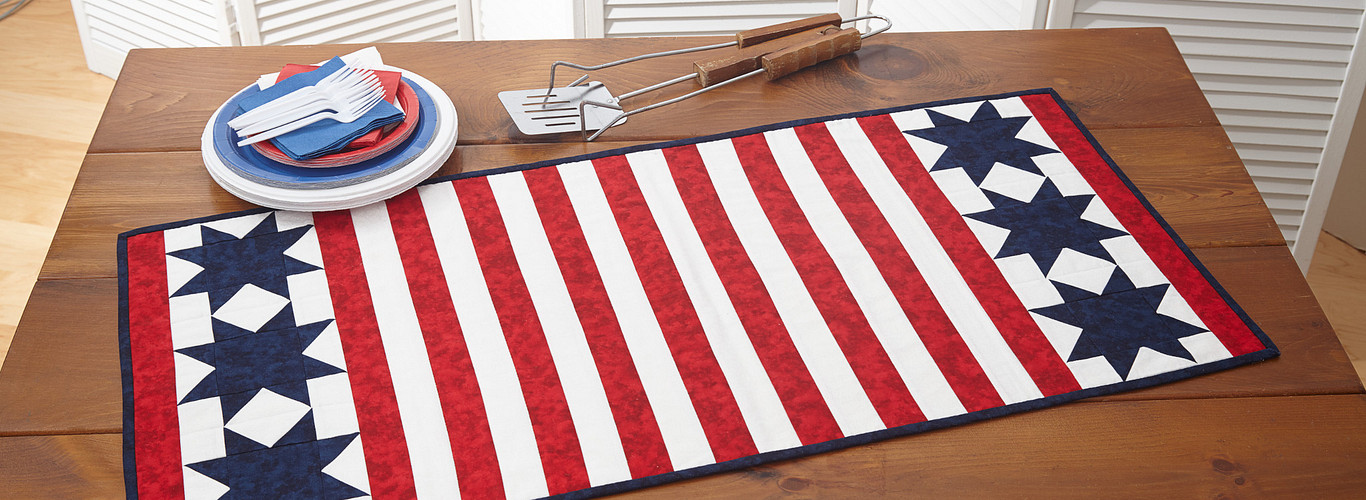 Project: Patriotic Table Runner