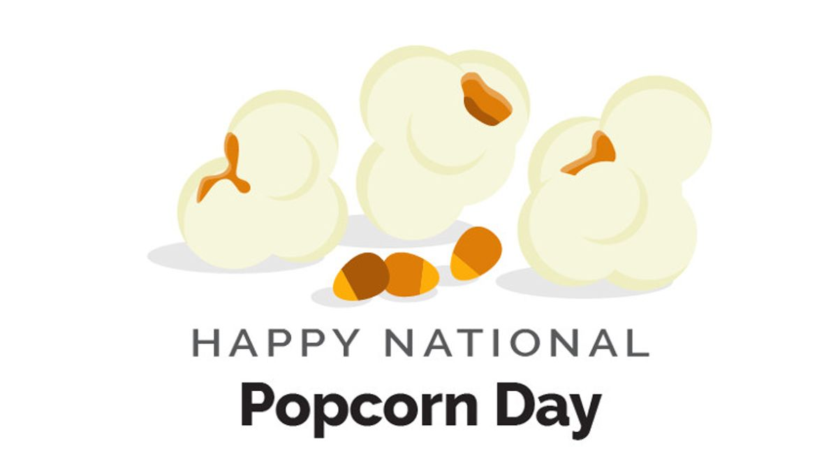 World Kitchen | Happy National Popcorn Day Infographic
