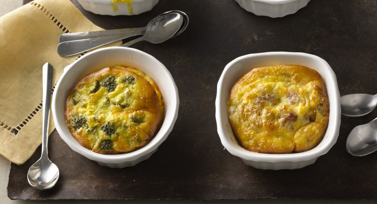 Make-Ahead Mini Breakfast Casseroles