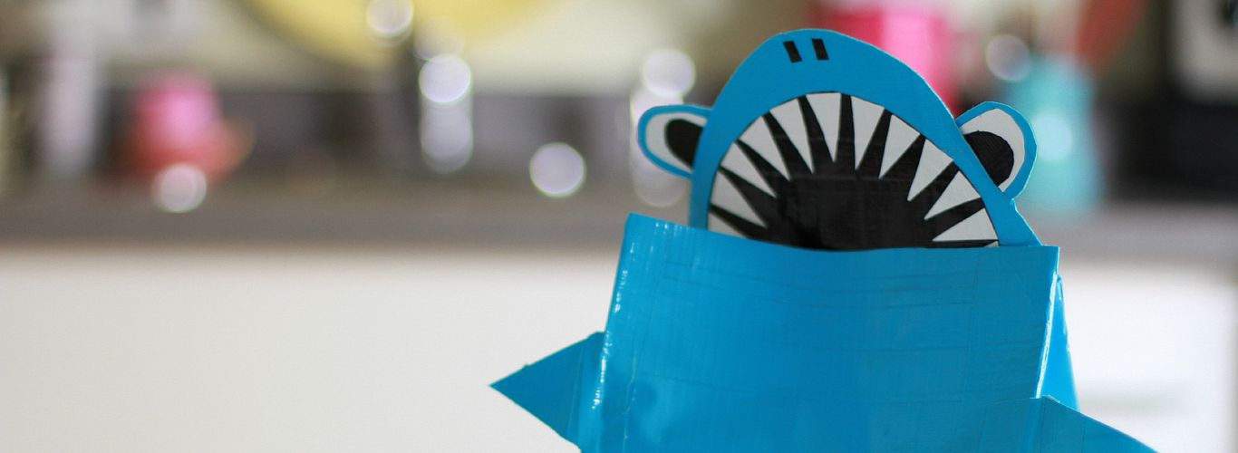 Shark Lunch Bag