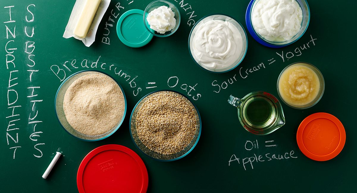 Pinch Hitters: Top 10 Ingredient Substitutes