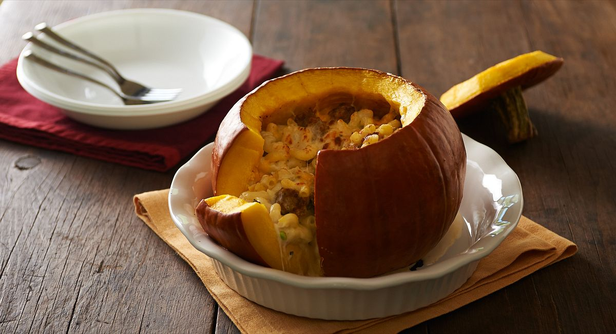 Stuffed Pumpkin Dinners