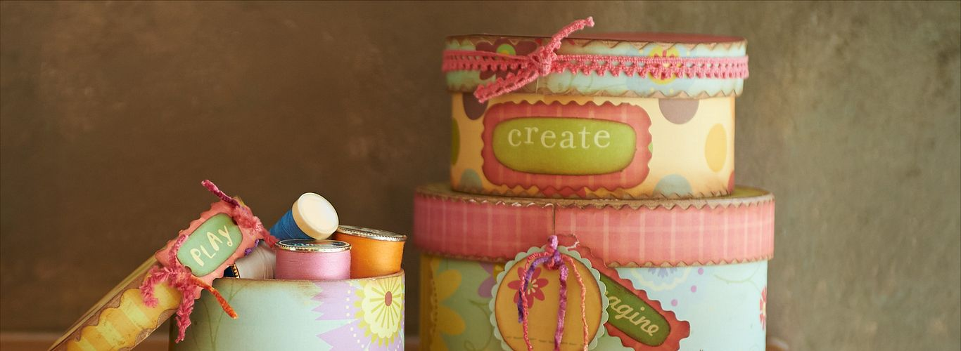 Project: Paper-Covered Stacking Storage Boxes