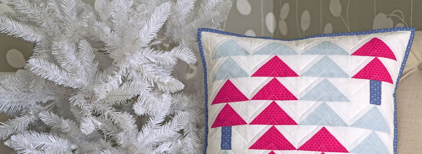 Project: Holiday Forest Pillow