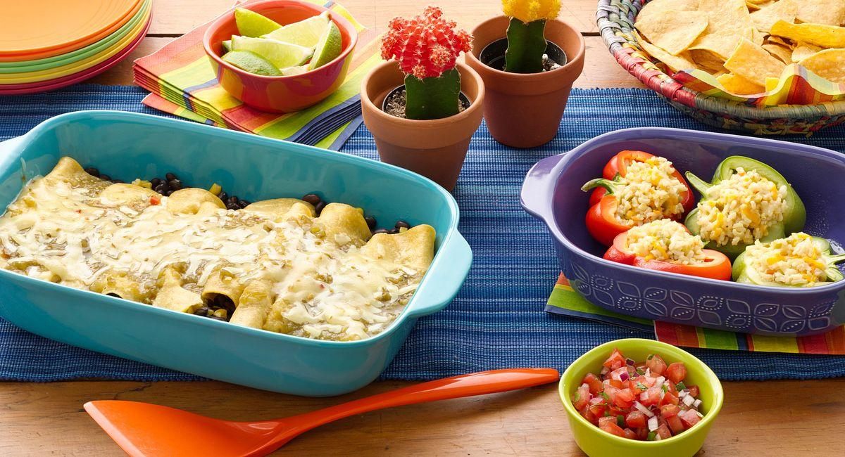 1-Hour Mexican Dinner Party (Olé!)