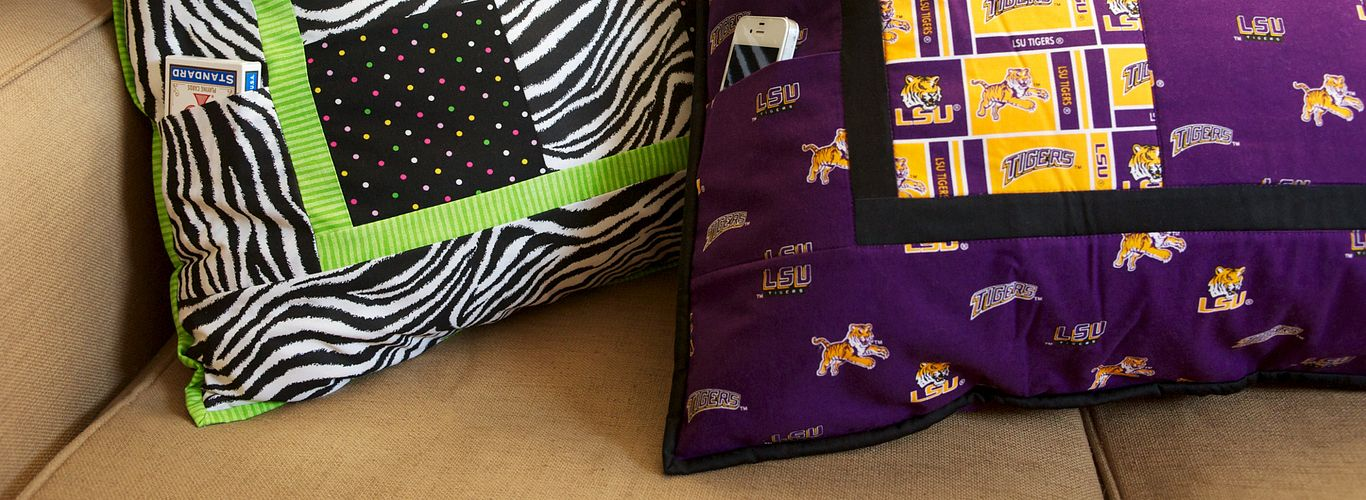 Project: Hidden Pocket Dorm Pillow