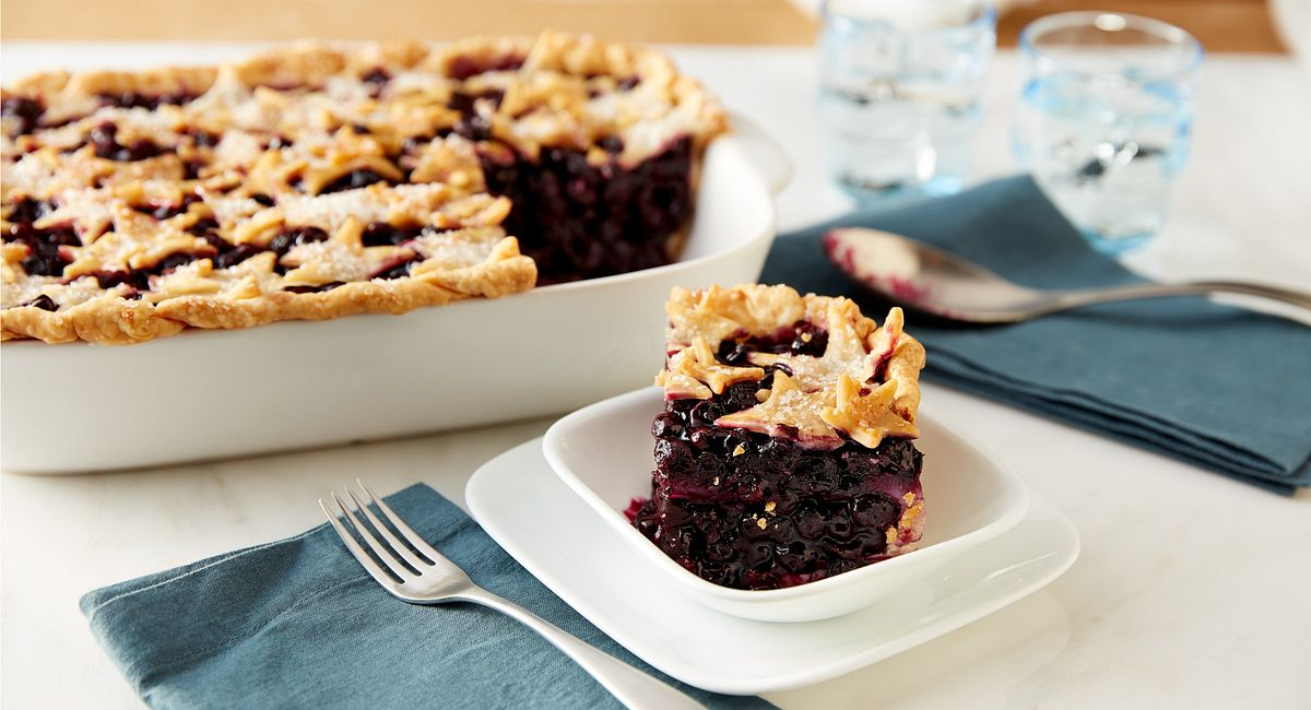 Deep-Dish Blueberry Pie