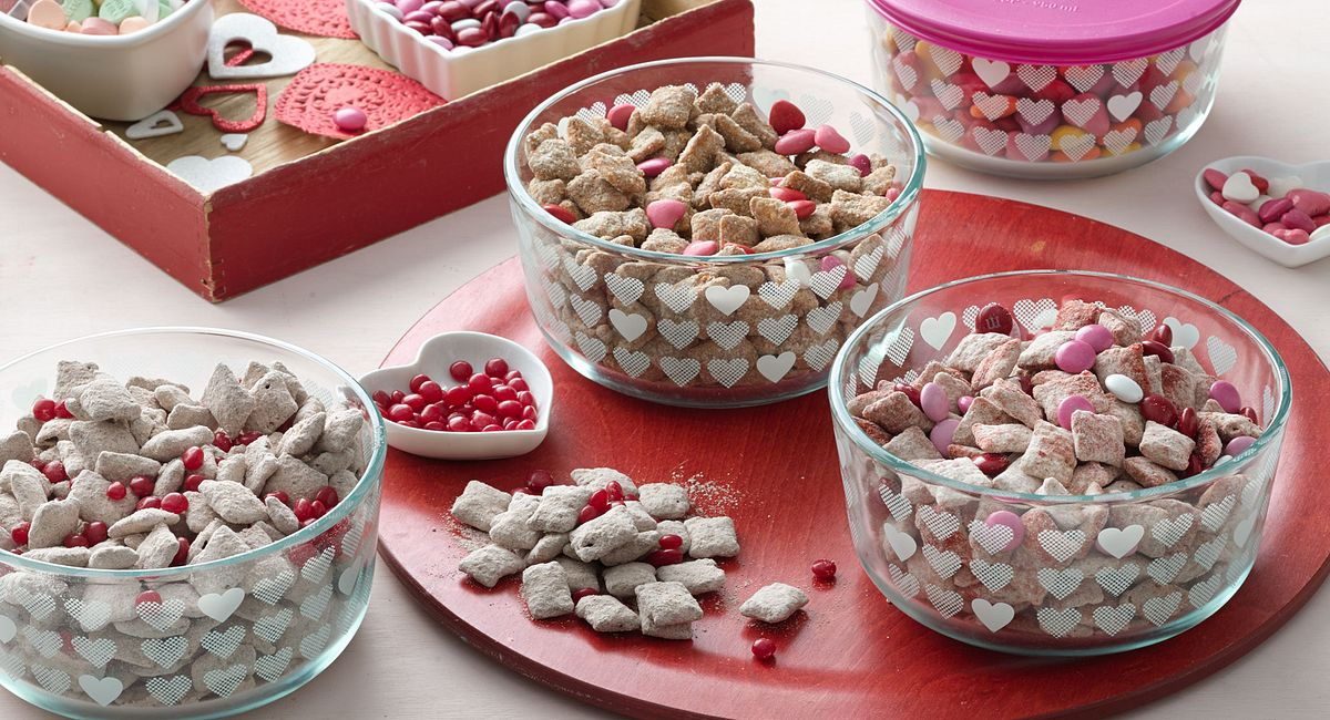 4 Sweet Twists on Puppy Chow Snack Mix