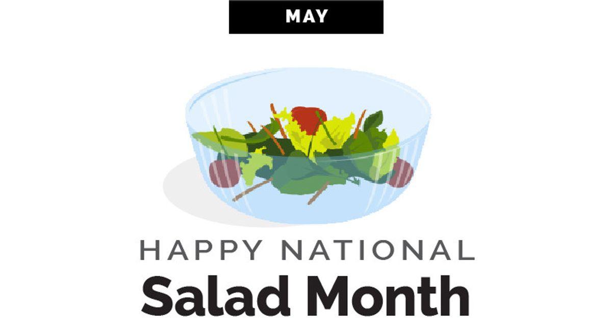 World Kitchen | Happy National Salad Month