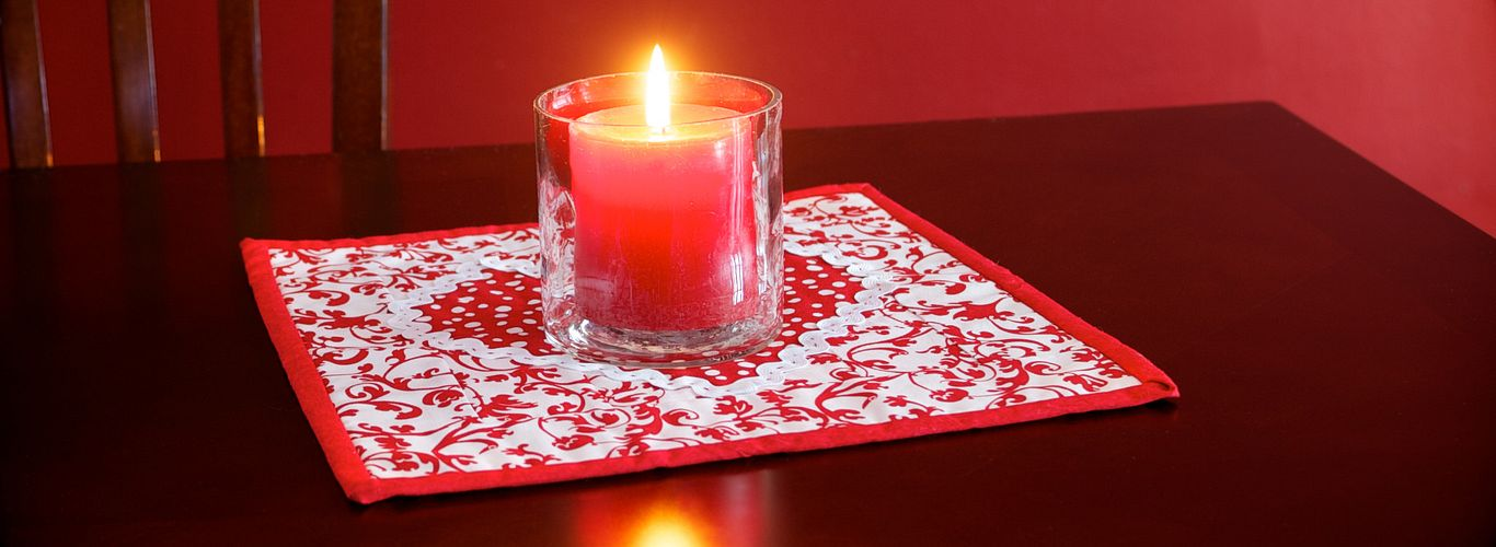 Project: Sweetheart Candle Mat