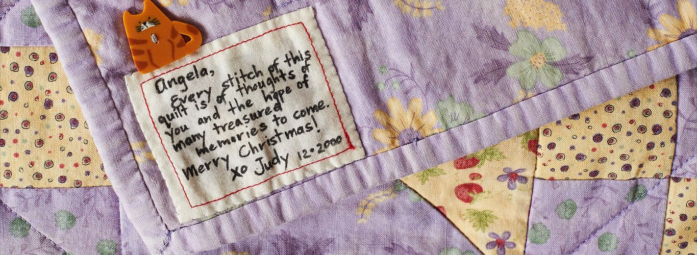 Personalized Labels for Your Quilt!