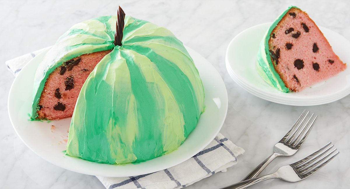 Summer-Lovin' Watermelon Cake