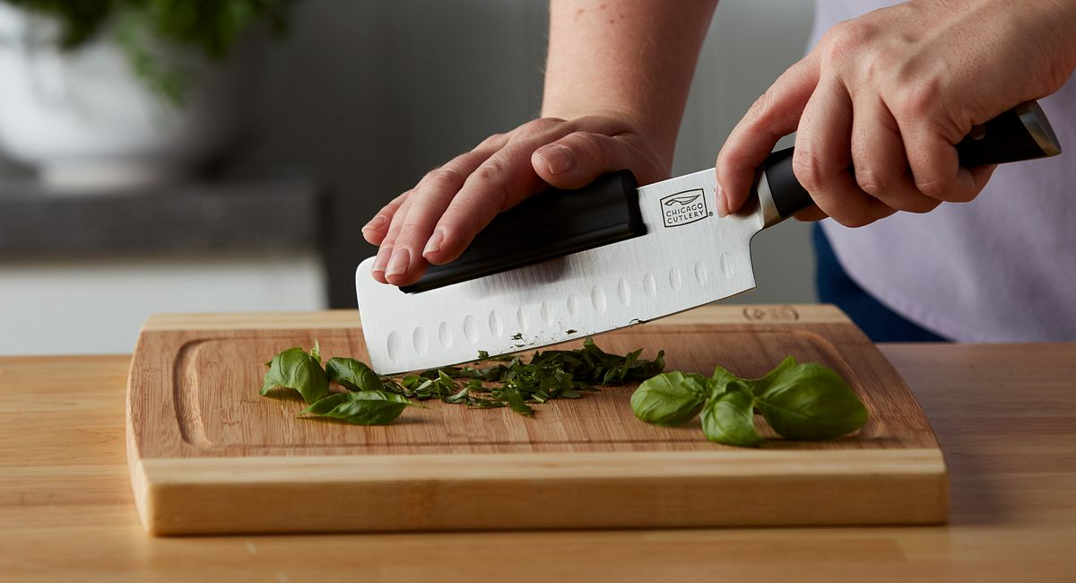 How to chop any herbs