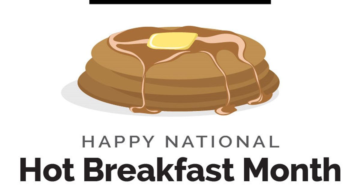 World Kitchen | Happy National Hot Breakfast Month Infographic