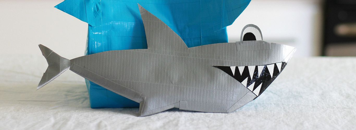 Project: Shark Pencil Case