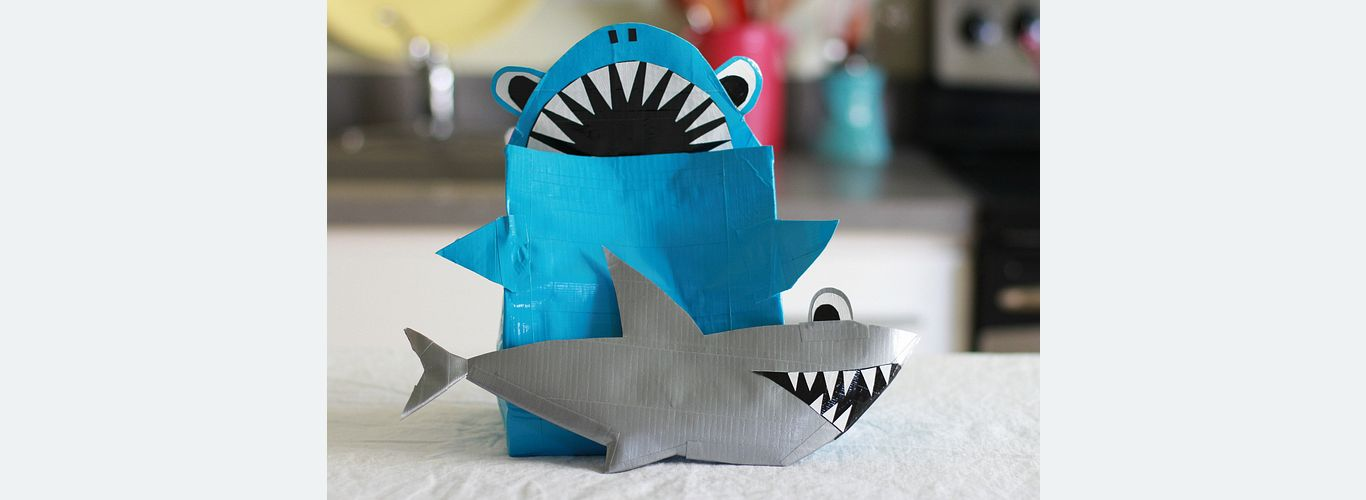 Project: Duct-Tape: Let the Back-to-School Fun Begin!